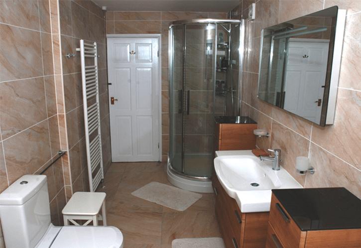 Full bathroom renovations new bathrooms alan heath and for New bathroom images
