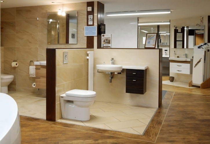 Bathroom Showroom in Coventry - Alan Heath and Sons
