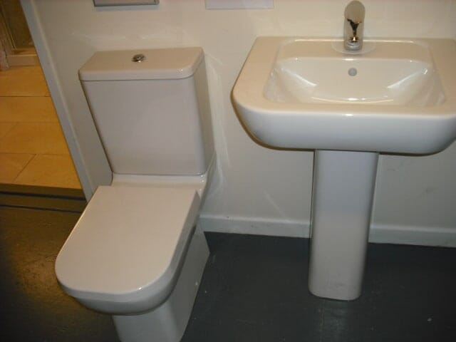 Ex Display Retro Basin & WC