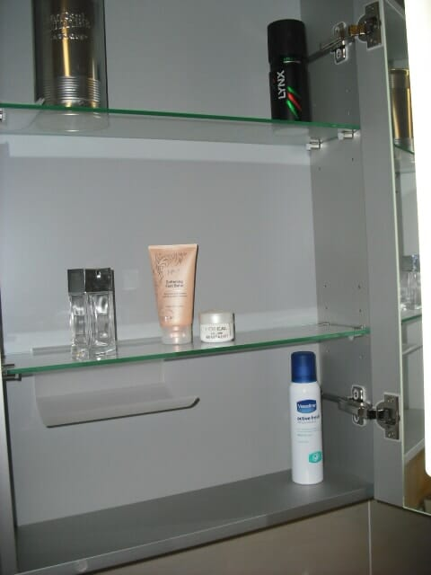 Bathroom organising tips