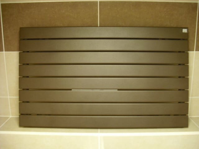 Roda 592 x 1000mm Radiator in Brown Quartz
