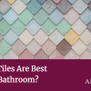 Which Tiles Are Best for my Bathroom? Choosing tiles for your bathroom can be almost an afterthought. The suite generally gets the main focus and certainly the layout with a larger renovation with big change. But the tiles will usually take up more eye space that the rest of your bathroom and they're what create the perfect (or not so perfect) backdrop for your new bathroom. It's worth spending time matching/complementing your tiles to your suite and your bathroom and work out the perfect layout for your tiles, to get the most from your new project. Textured tiles Textured tiles can look great and will give a wow factor to your new bathroom. Be careful where you use them though as a small bathroom can struggle to fully show off the busy design and can often make it feel smaller when you add them into the design. In this instance you may prefer a shiny smooth tile with a subtle pattern effect. Working on a larger bathroom? No problem. A larger bathroom will cope and the texture and design will give a very striking and pleasing result. Simple tiles Smaller bathrooms actually work better with a plain and simple design. It might be tempting to go a little wild to make more of your small room but the laws of design aren't with you on that one. Go for a light colour, and avoid busy patterns as this will give a spacious feel rather than an enclosed one. Colours Coloured tiles are a great idea when it suits your house and taste. Obviously if you're not having a white suite (which will pair with most colours) you should aim to match the colour. Again, a larger bathroom can cope with strong and bold designs so you can be really creative with your large bathroom, and more conservative with your small one. Large tiles Small bathrooms actually benefit from bigger tiles. It's all down to the grout lines and the noise that they create to your design. Smaller tiles mean more grout lines and more lines means a busier wall that ruins your ambiance. A large bathroom will hide the extra lines and you can even make a feature of the grout colours too. These days you can get grout in almost any colour so consider whether you want to match, complement, or contrast with your tile. Did you know you can also get glitter grout, glow in the dark, or metal inlays? Big and bold tiles Larger bathrooms can cope with big and bold design and as before you probably won't get away with those crazy colours in a small bathroom. In a large bathroom though you can go big and bold and really make a statement with all that space you have to play with. How many tiles will I need? You'll need to measure the area that's going to be tiled and calculate the area in square metres which is the length x height of your wall or length x width of your floor. With larger tiles you should measure the wall both vertically and horizontally and then divide by the size of the tile to save on a high wastage of tiles. You will still need to add extra tiles for wastage or the odd breakages though. Don't worry if there's too much maths involved – we can help you out. We do this every day! Tiles need to suit you AND your bathroom The tiles you choose need to be right. With the common trend of tiling pretty much all of your walls, tiles are as important as the paint your choose in your other rooms. Match the room size, the mood, the suite and obviously match your style and preferences too. Making the best of the light, size and use is of course at the top of our list. Need help? Pop into our Coventry showroom and we'll lend you a hand.
