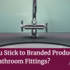 Should You Stick to Branded Products for your Bathroom Fittings? We regularly see people in our showroom who are in need of help renovating an existing bathroom. Aside from full bathroom renovations, we're always happy to help with smaller projects and often find ourselves chatting to people who've bought from a bathroom supplier and now have a problem with their bathroom that they're struggling to fix. There's a common trend for bathroom suppliers to use suites, taps, and cabinets that are unbranded. Why? Well it makes it easier for them to sell and make a good profit on. There's nothing inherently wrong with that… until it goes wrong. Many of the people we speak to who have been sold non-branded bathroom supplies are in a predicament because when it goes wrong, they struggle to make it right. The showroom goes bust… In these turbulent times, businesses come and go. It's part and parcel of the economic world and a risk with pretty much everything that you buy. We've seen competitors come and go in the past 40+ years of business, but we're still here, focusing on maintaining our family business and providing the excellent service and quality we're known for. Bathroom businesses come and go just like other companies do. But what happens when something in your bathroom breaks? One situation that will cause issue with a non-branding part of your bathroom is if your bathroom supplier goes bust a few years after they install your bathroom. Sure, you might then lose a guarantee or service but you'll also be in trouble should you need to replace any of the products – because you won't know where they came from! Try Googling without a name; it's a tricky operation! Is the quality up-to-scratch? One of the main reasons to buy a known brand is that the quality is usually better and it's likely to last longer. Not only will you have a guarantee and somewhere to go back to should you have a problem, but you're much less likely to have the problem in the first place! Branded pro