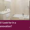 Alan Heath - What Should I Look for in a Bathroom Renovation