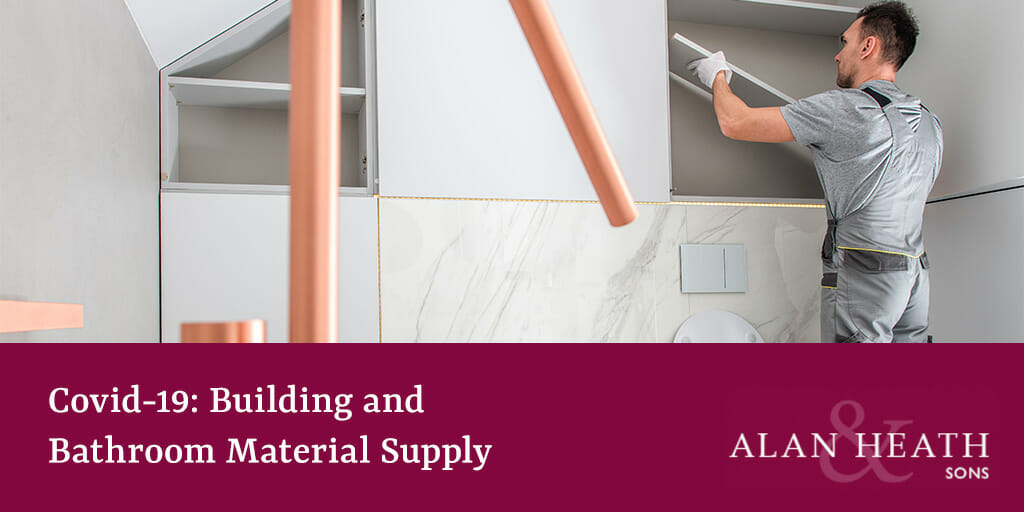 Covid-19 Building and Bathroom Material Supply